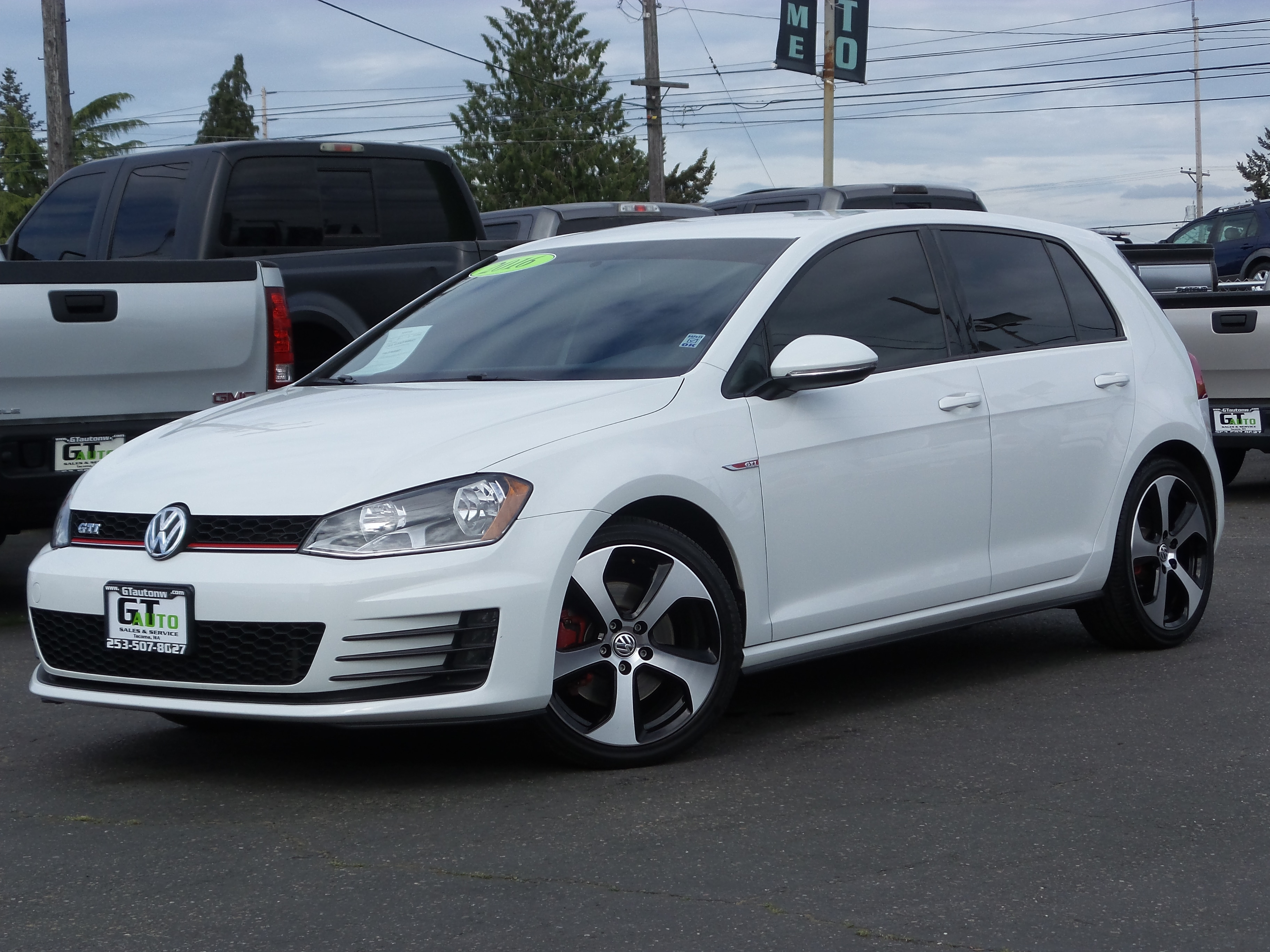 Used 2016 Volkswagen Golf GTI For Sale Ta a WA