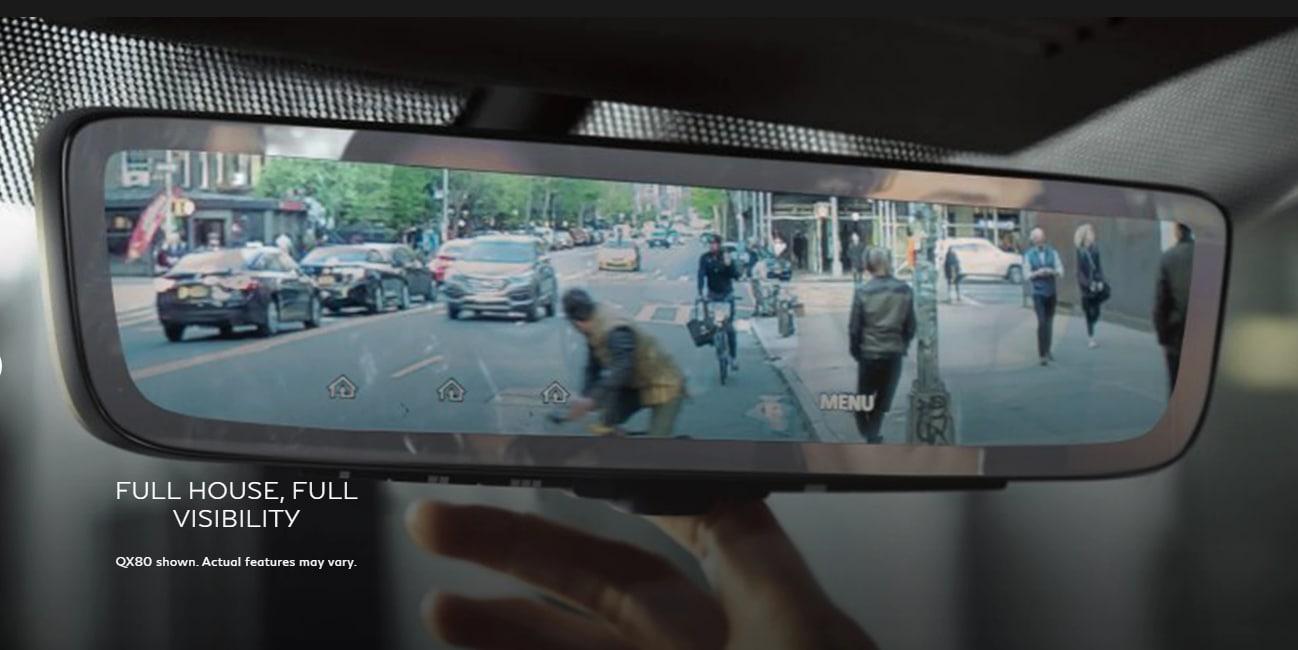 Smart Rearview Mirror