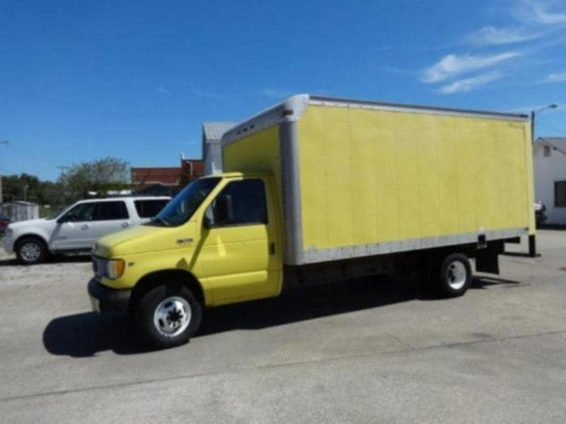 1998 Ford Econoline Cutaway Commercial Chassis Truck