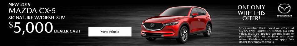 2019 Mazda CX-4 Signature w/ Diesel SUV