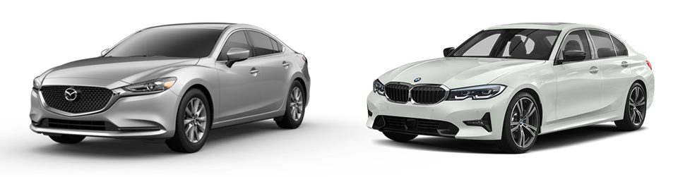 New Mazda6 vs. BMW 3-Series