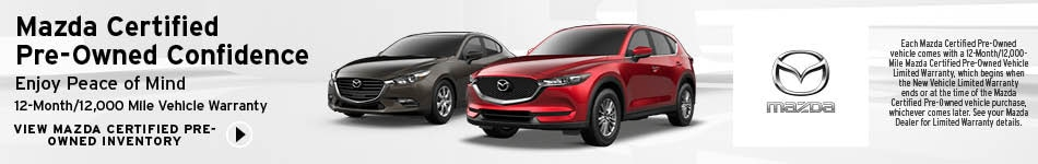 Mazda Certified Pre-Owned Confidence