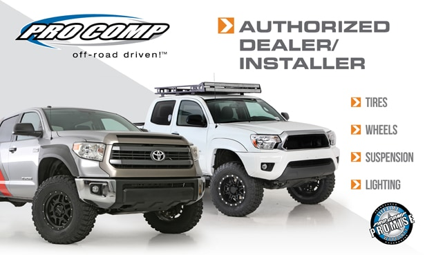 Pro Comp Parts For Toyota Trucks