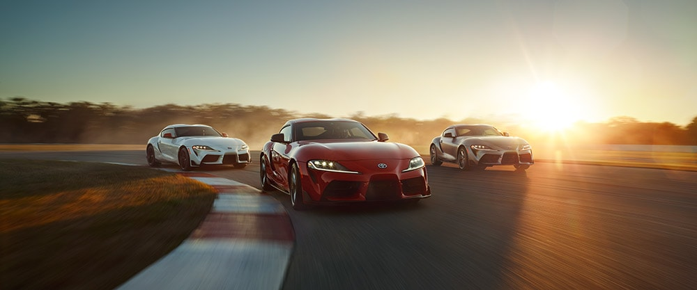 2020 Toyota Supra Lineup in Houston