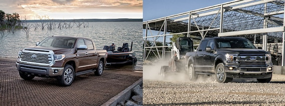 Toyota Tundra Towing Capacity >> Toyota Tundra Vs Ford F 150 Towing Capacity
