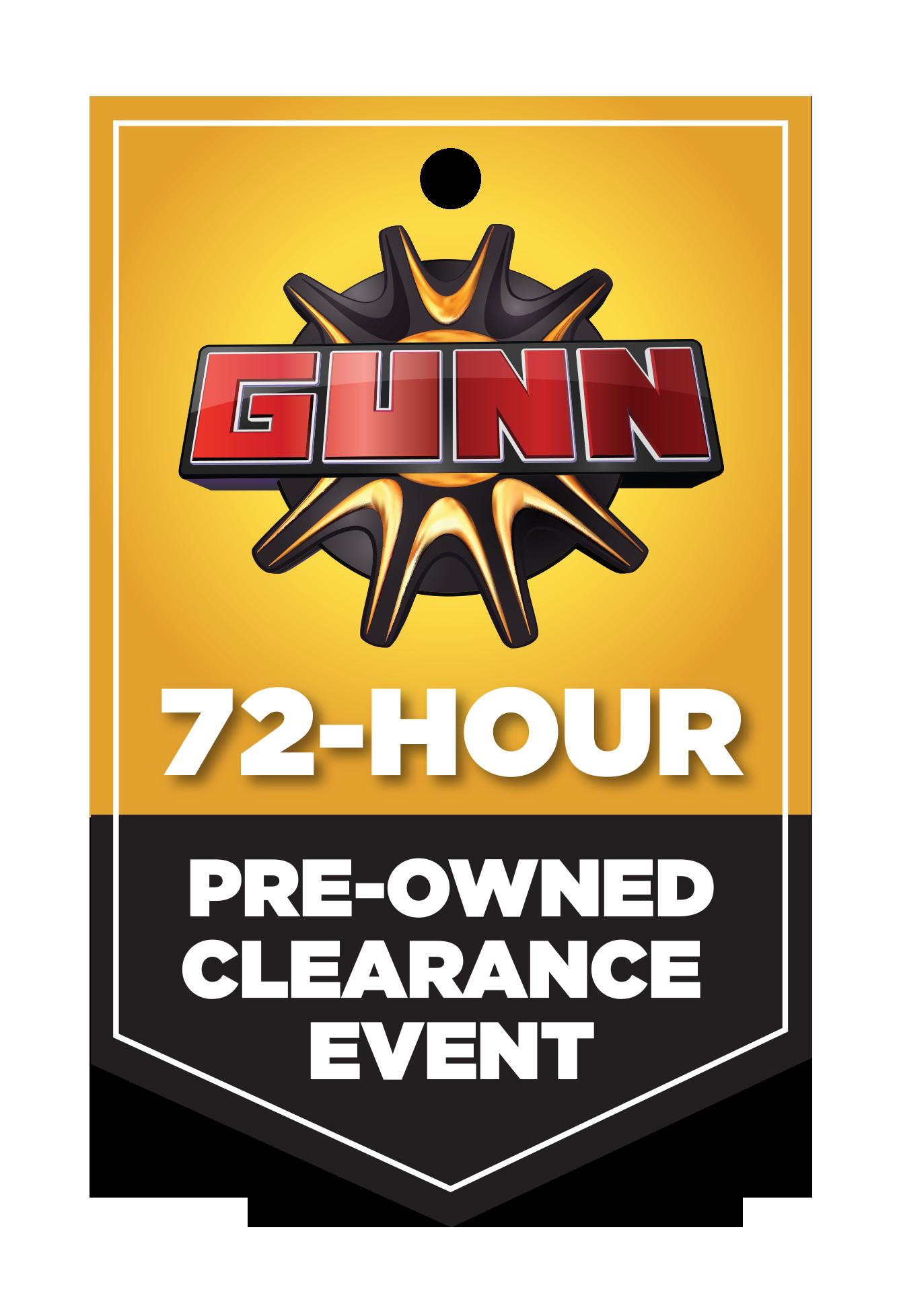 Gunnu0027s 72 Hour Sale