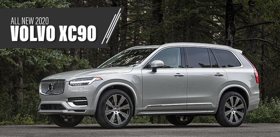 the new 2020 volvo xc90 exterior in silver
