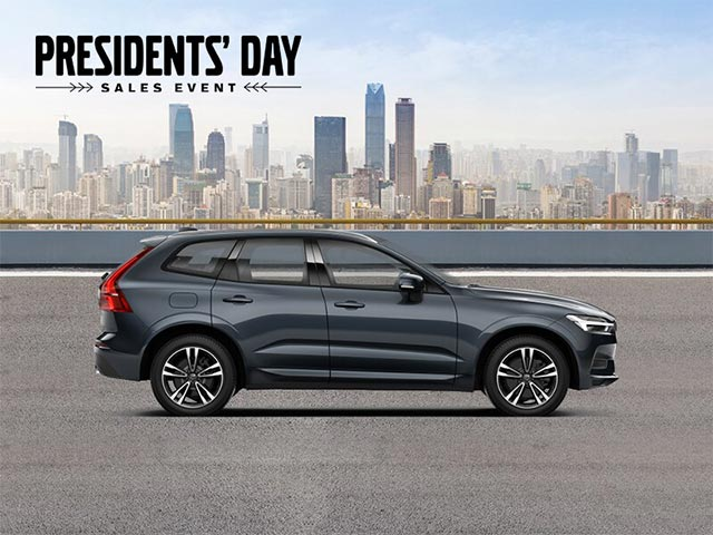 gray 2020 volvo xc60 t5 momentum for lease in south florida