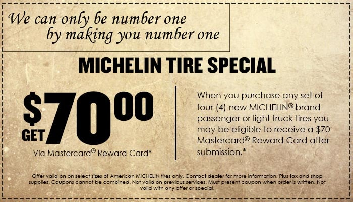 Michelin Tires Special