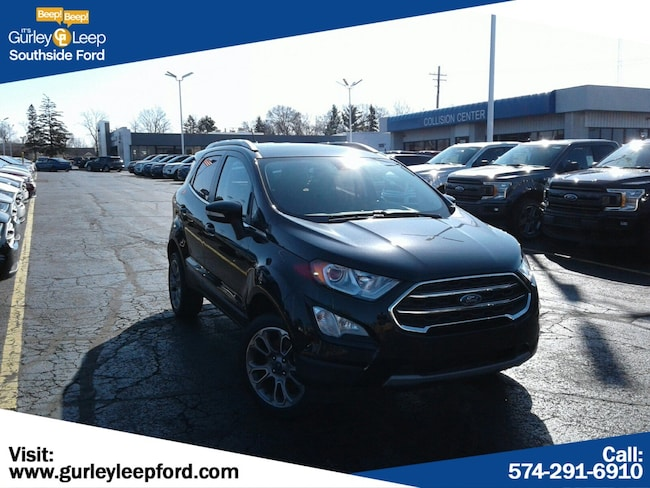 New 2019 Ford EcoSport Titanium SUV in South Bend, IN