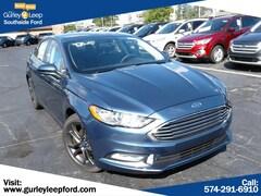 New 2018 Ford Fusion SE Sedan 3FA6P0HD0JR266722 SouthBend,IN