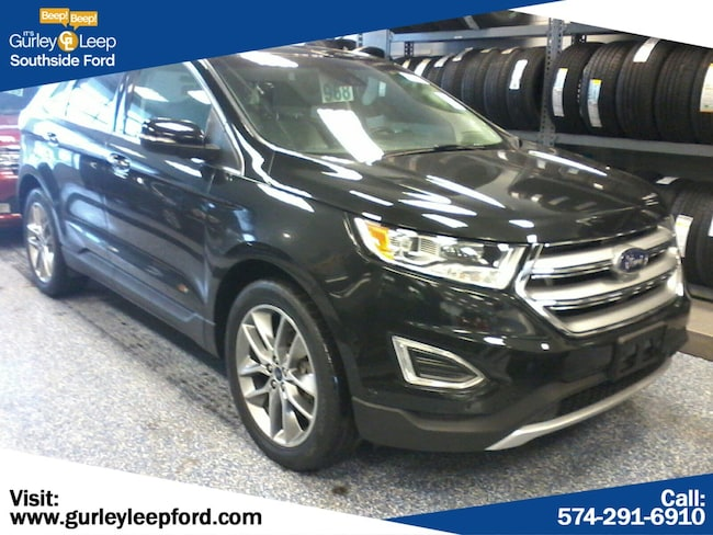 Certified Used 2015 Ford Edge Titanium Sport Utility in South Bend, IN