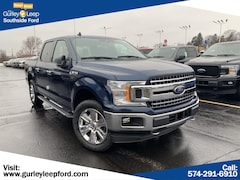 New 2019 Ford F-150 Lariat Truck SuperCrew Cab 1FTEW1EP1KFA59199 SouthBend,IN