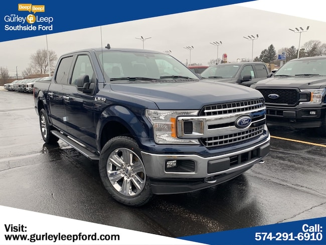 New 2019 Ford F-150 Lariat Truck SuperCrew Cab in South Bend, IN