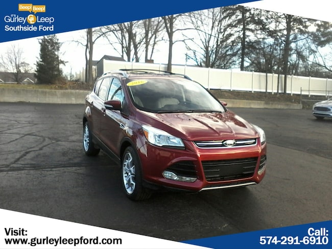 Certified Used 2016 Ford Escape Titanium Sport Utility in South Bend, IN