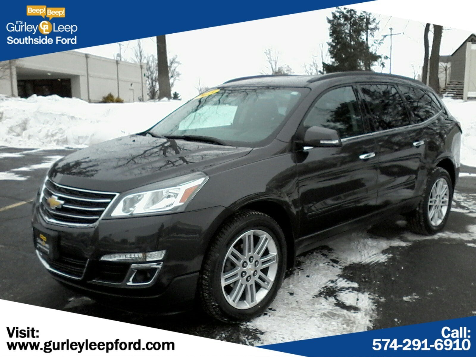 Featured Used 2015 Chevrolet Traverse LT Sport Utility for sale near you in South Bend, IN
