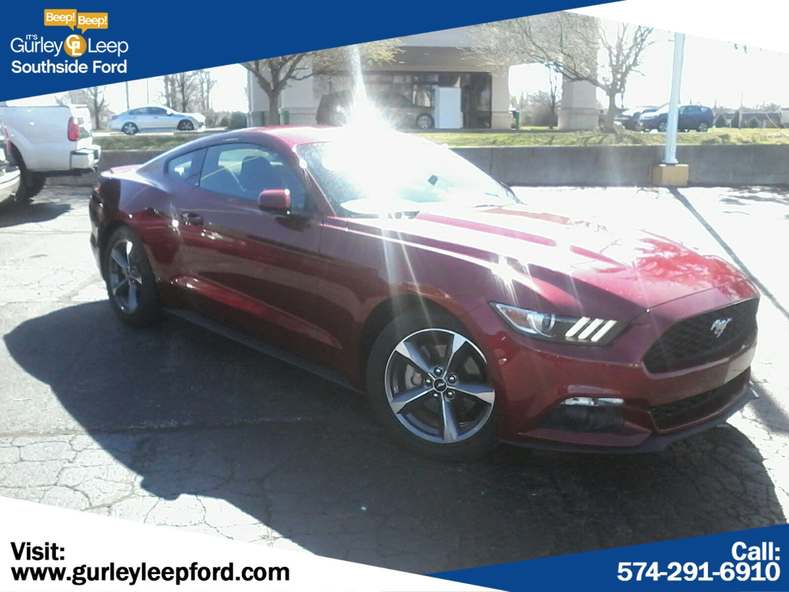 Featured Used 2015 Ford Mustang EcoBoost 2dr Car for sale near you in South Bend, IN