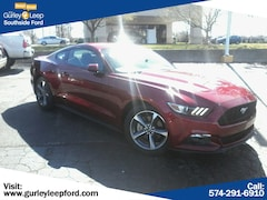 Certified Pre-Owned 2015 Ford Mustang EcoBoost 2dr Car for sale near you in South Bend, IN