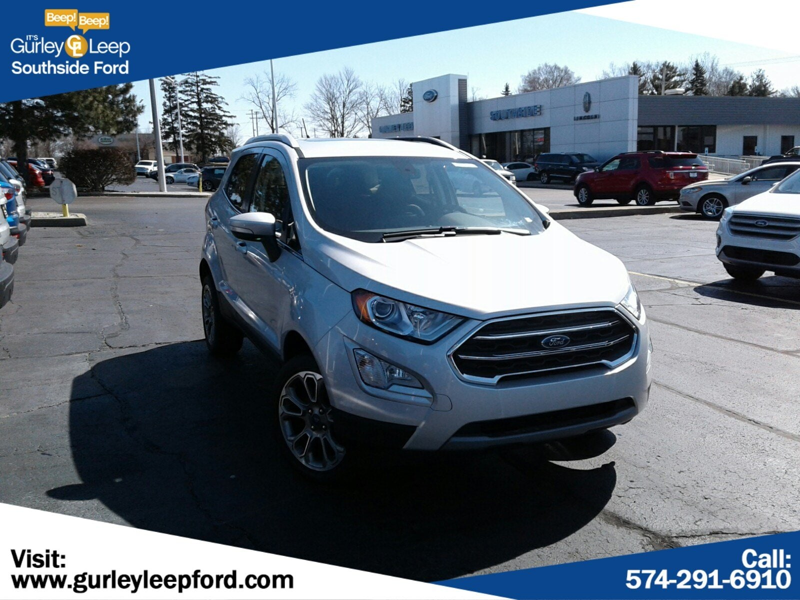 New Featured 2019 Ford EcoSport Titanium SUV for sale near you in South Bend, IN