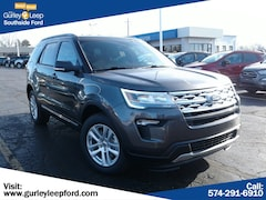 New 2019 Ford Explorer XLT SUV 1FM5K8DH3KGA50752 SouthBend,IN