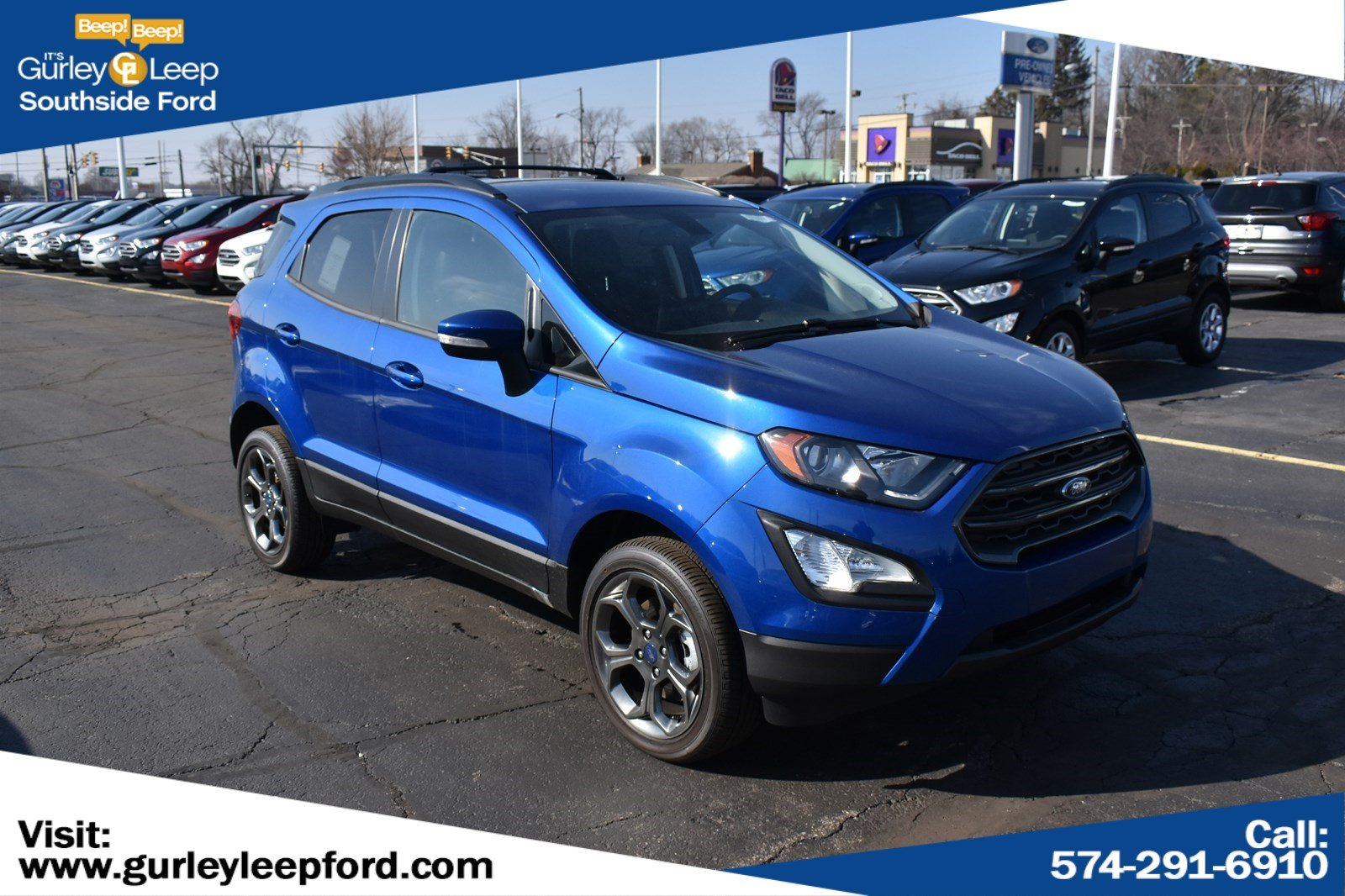 New Featured 2018 Ford EcoSport SES SUV for sale near you in South Bend, IN