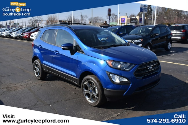New 2018 Ford EcoSport SES SUV in South Bend, IN