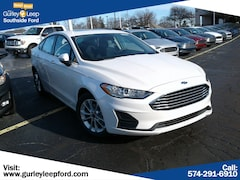 New 2019 Ford Fusion SE Sedan 3FA6P0HD1KR131475 SouthBend,IN