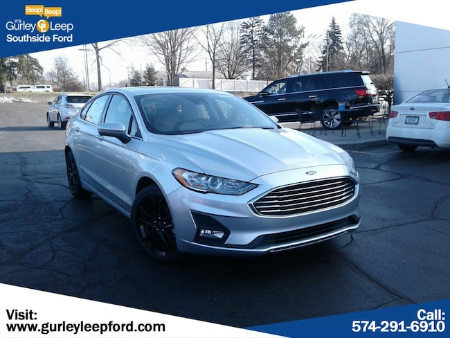 New 2019 Ford Fusion SE Sedan in South Bend, IN