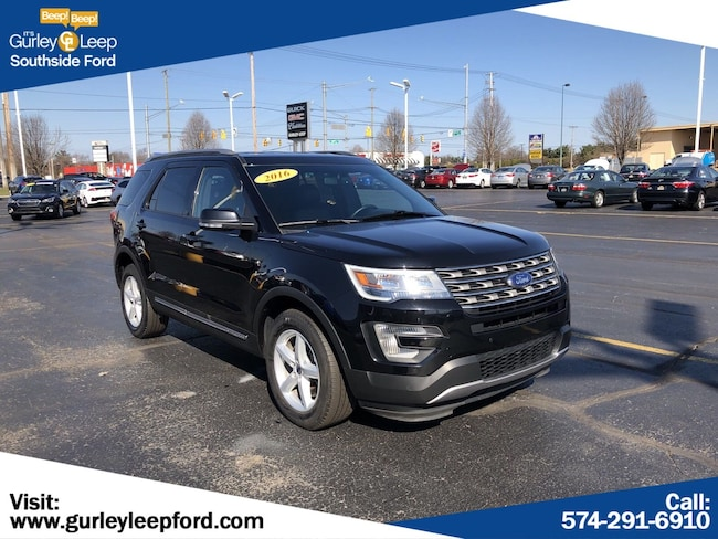 Used 2016 Ford Explorer XLT Sport Utility in South Bend, IN