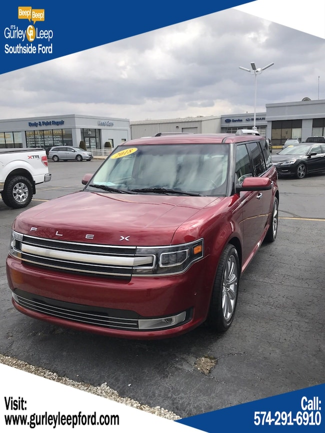 Used 2018 Ford Flex Limited EcoBoost Sport Utility in South Bend, IN