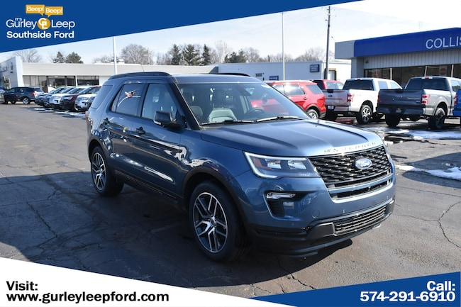 New 2019 Ford Explorer Sport SUV in South Bend, IN