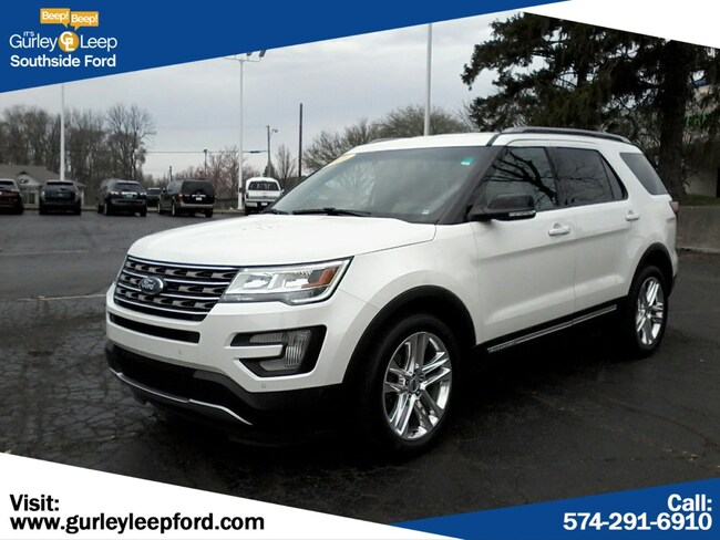 Certified Used 2016 Ford Explorer XLT Sport Utility in South Bend, IN