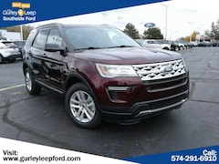 New 2019 Ford Explorer XLT SUV 1FM5K8D8XKGA21720 SouthBend,IN