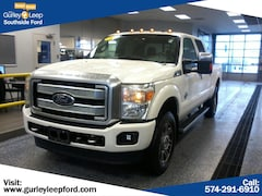 Certified Pre-Owned 2014 Ford Super Duty F-250 SRW Platinum Crew Cab Pickup for sale near you in South Bend, IN