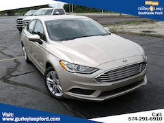 New 2018 Ford Fusion Hybrid S Sedan 3FA6P0UU3JR262122 SouthBend,IN