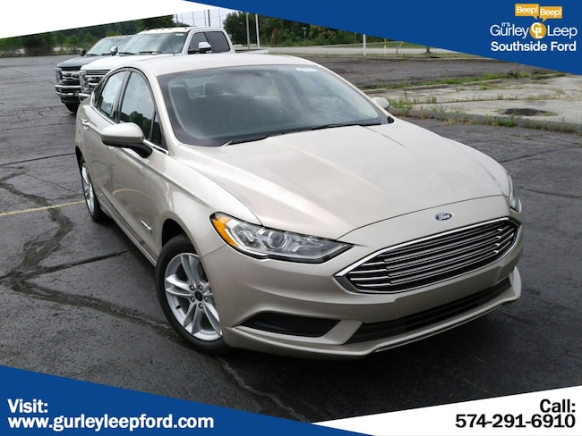 New 2018 Ford Fusion Hybrid S Sedan in South Bend, IN