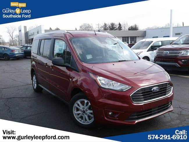 New 2019 Ford Transit Connect XLT w/Rear Liftgate Wagon Passenger Wagon LWB in South Bend, IN