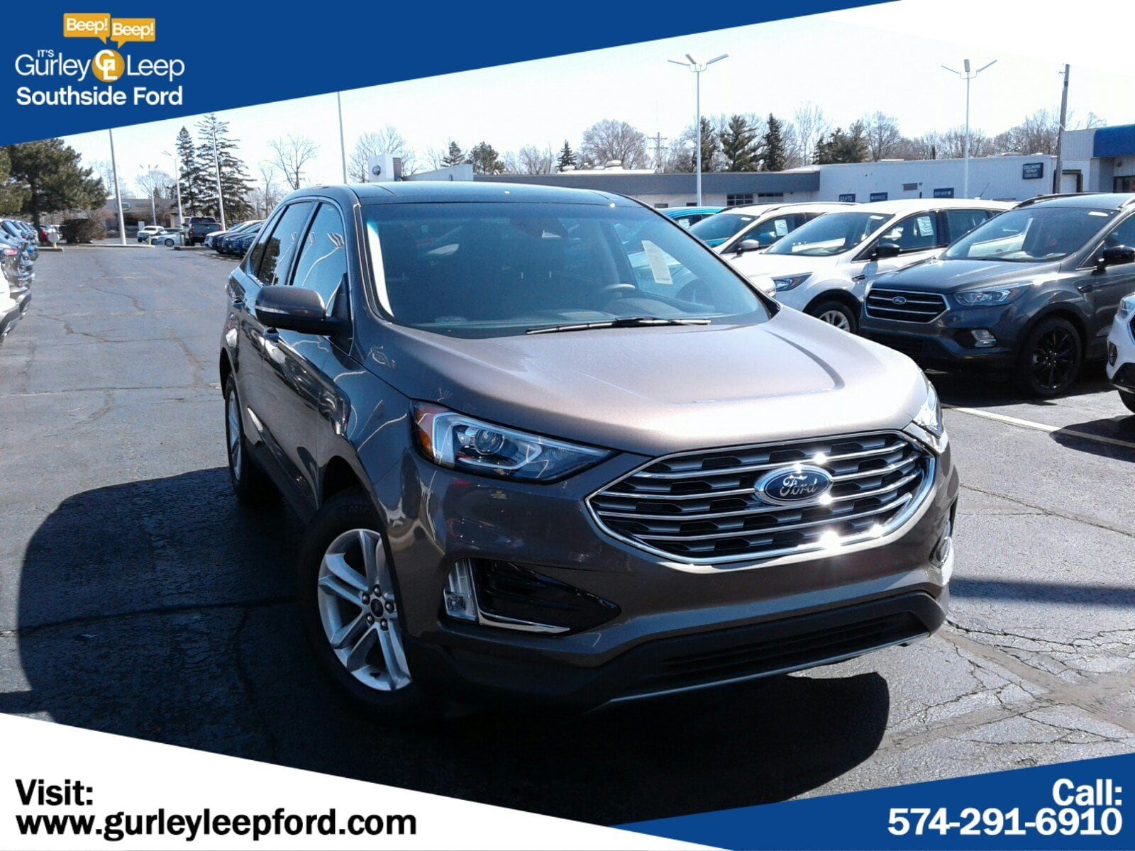 New Featured 2019 Ford Edge SEL SUV for sale near you in South Bend, IN
