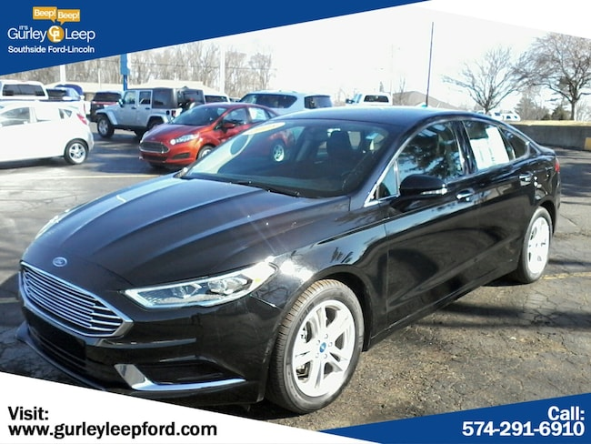 Certified Used 2018 Ford Fusion SE 4dr Car in South Bend, IN