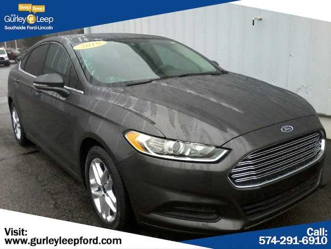 Certified Used 2016 Ford Fusion SE 4dr Car in South Bend, IN
