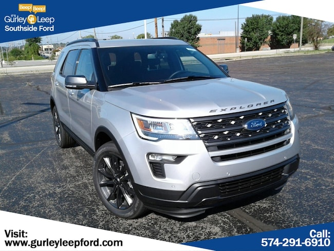 New 2018 Ford Explorer XLT SUV in South Bend, IN
