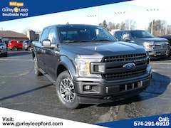 New 2019 Ford F-150 Lariat Truck SuperCrew Cab 1FTEW1EP4KFA12619 SouthBend,IN
