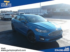 New 2019 Ford Fusion SE Sedan 3FA6P0HD9KR168628 SouthBend,IN