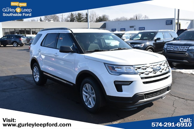 New 2019 Ford Explorer XLT SUV in South Bend, IN