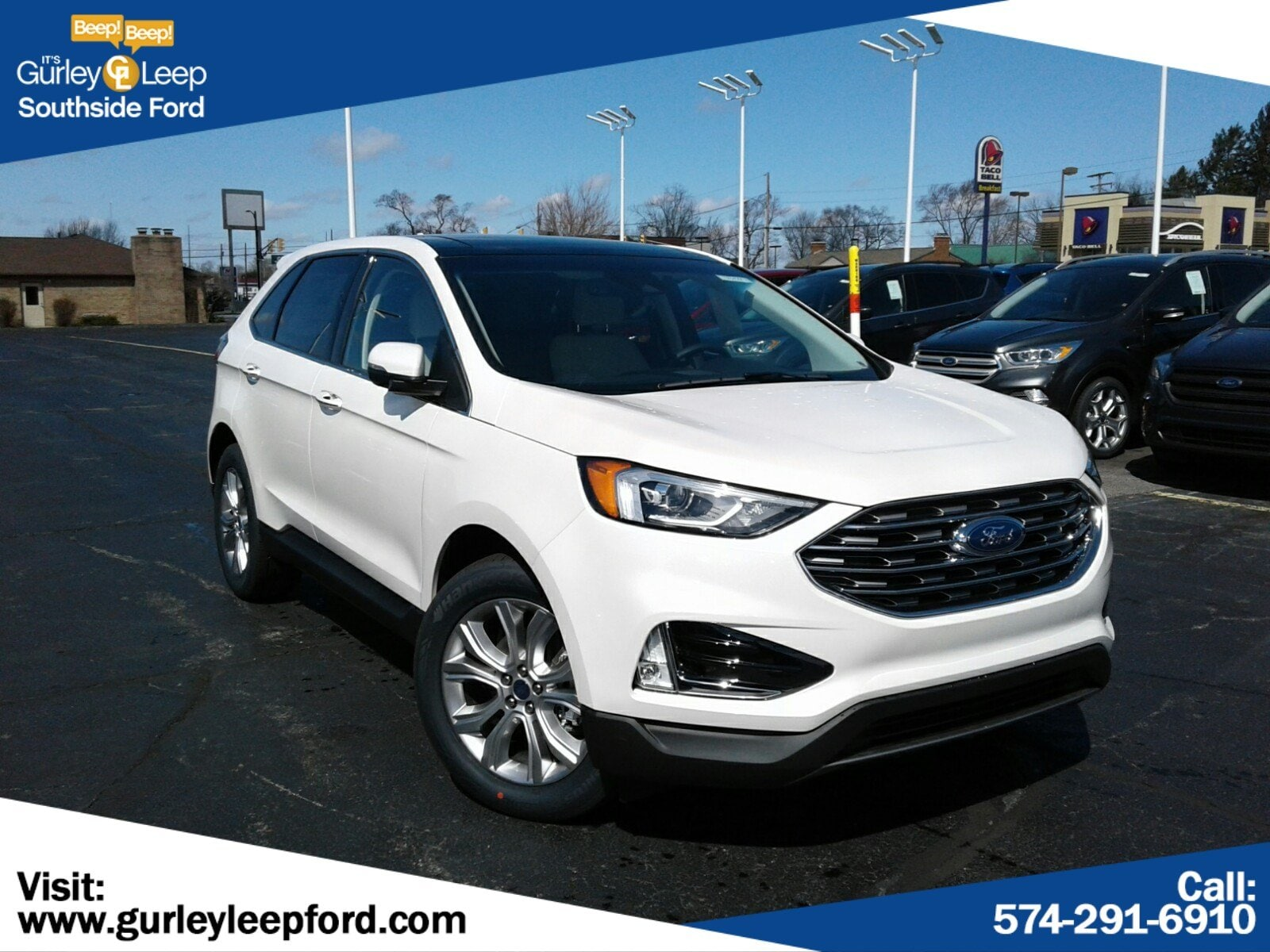New Featured 2019 Ford Edge Titanium SUV for sale near you in South Bend, IN