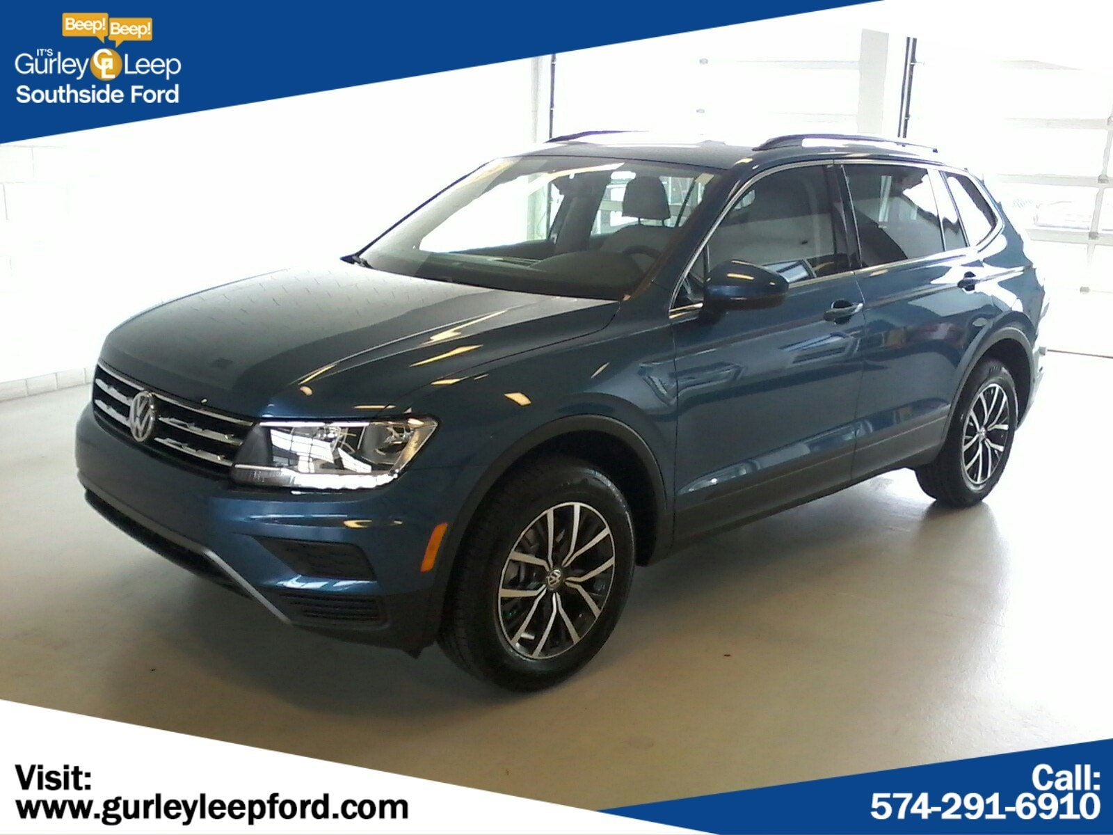 Featured Used 2019 Volkswagen Tiguan 2.0T SE Sport Utility for sale near you in South Bend, IN