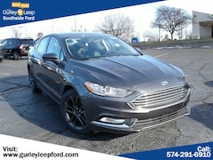 New 2018 Ford Fusion SE Sedan 3FA6P0HD5JR259877 SouthBend,IN