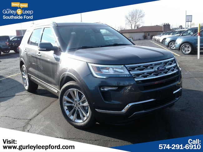 New 2018 Ford Explorer Limited SUV in South Bend, IN