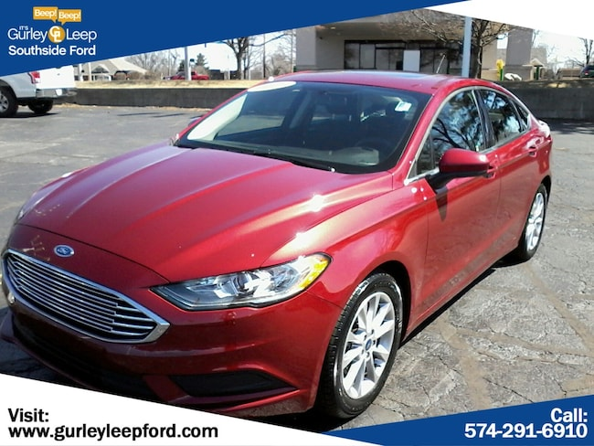 Certified Used 2017 Ford Fusion SE 4dr Car in South Bend, IN