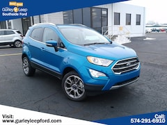 New 2020 Ford EcoSport Titanium SUV SouthBend,IN